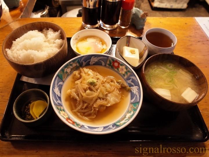 【秋葉原】赤津加 「ランチ 本日の煮魚定食、山かけ定食」