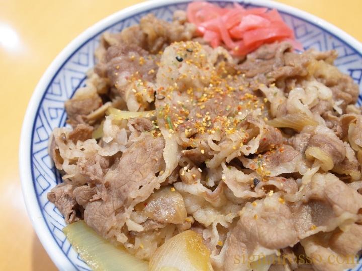 【東京競馬場グルメ】吉野家「大盛牛丼」【レポート】