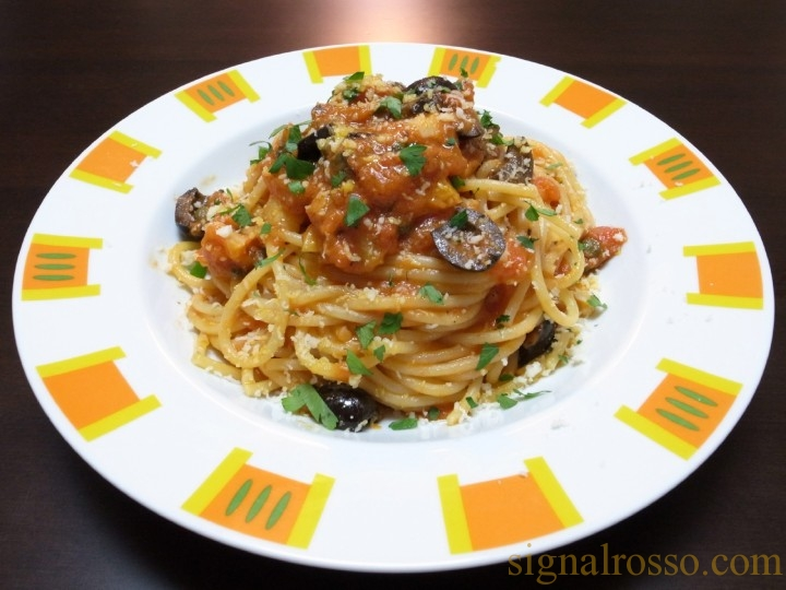 【ジョジョ】トニオさんのイタリア料理を再現してみた・改 娼婦風スパゲティー【第4部】